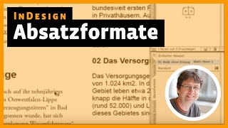 Download InDesign Tutorial: Absatzformate Video