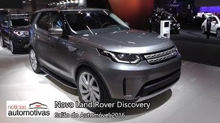 Download Novo Land Rover Discovery 2017 - Salão do Automóvel 2016 - NoticiasAutomotivas.br Video