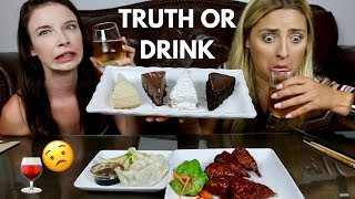 Download TRUTH OR DRINK MUKBANG! Cake, Buffalo Wings, and Dumplings Video