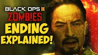 Download ZETSUBOU NO SHIMA EASTER EGG ENDING EXPLAINED! - SECRET TELEPORT & BLOOD VIALS (BO3 Zombies) Video