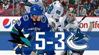 Download Canucks vs Sharks | Highlights | Mar. 17, 2018 [HD] Video