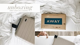 Download UNBOXING OUR AWAY CARRY-ON LUGGAGE 2017 Video