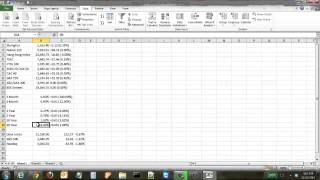 Download How to Pull in Data from a Website into an Excel Spreadsheet Video
