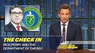 Download The Check In: Rick Perry and the Department of Energy Video