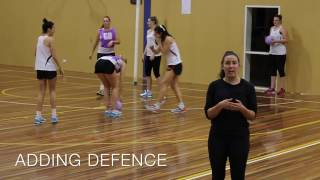 Download NETBALL DRILL: KELSEY BROWNE'S SPLIT AND HIT Video