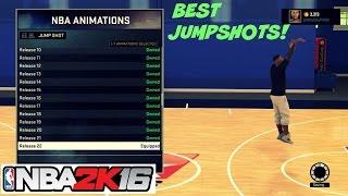 Download NBA 2K16  Top 3 Best JumpShots   Myplayer , Mycareer, Mypark , Stage - Prettyboyfredo Video