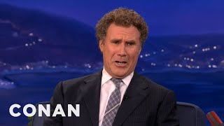 Download Will Ferrell Is All Busted Up Over Twilight's Kristen Stewart & Robert Pattinson - CONAN on TBS Video