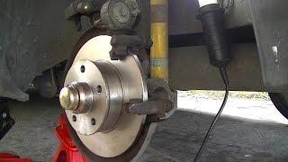 Download VW Golf Rear Bearing and Brake DIY Video