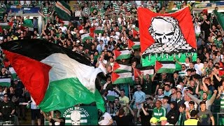 Download 'Thank you Celtic': Wave of support for football club waving Palestine flags Video