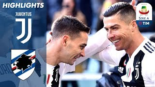 Download Juventus 2-1 Sampdoria | Ronaldo Double as Unbeaten Run Continues! | Serie A Video