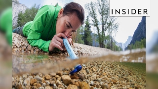 Download LifeStraw lets you drink out of rivers and streams Video