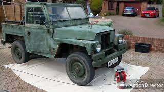 Download Landrover Lightweight Repaint, sand and roller paint. Video