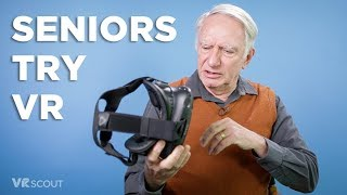 Download Seniors Try VR For The First Time - HTC Vive Video