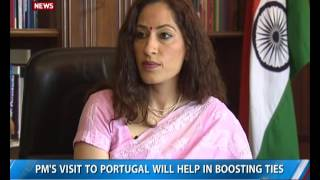 Download Indian Ambassador to Lisbon, Nandini Singla talks exclusively to DD News Video