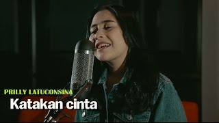 Download Prilly Latuconsina - Katakan Cinta (Offical Lyric Video) | Soundtrack BMBP Bawang Merah Bawang Putih Video