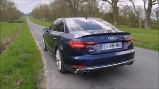 Download Audi S4 (B9) V6T, son du moteur en roulage et accélération Video