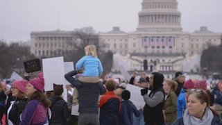 Download Meet The Protesters At The Women's March Video