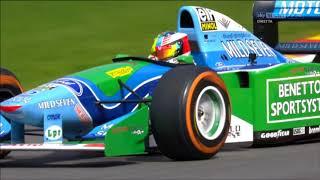 Download Mick Schumacher Spa 2017 Benetton B194 Video