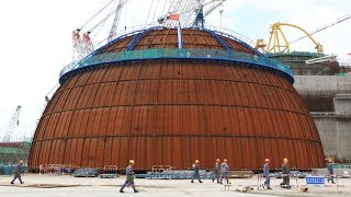 Download Dome installation of China's Hualong One nuclear project begins Video