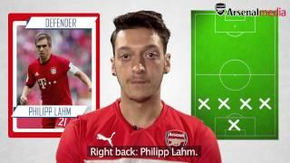 Download Mesut Ozil's Ultimate XI   Does Cristiano Ronaldo make it? Video