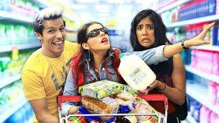 Download TAG DEL SÚPER MERCADO A CIEGAS | LOS POLINESIOS RETO Video