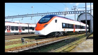 Download SBB RABe 501 004 Giruno in Basel [14.3.18] Video