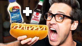 Download Weird Hot Dog Topping Taste Test Video