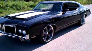 Download Qik - 1972 Oldsmobile Cutlass-The Beast!!! by dyncossio Video