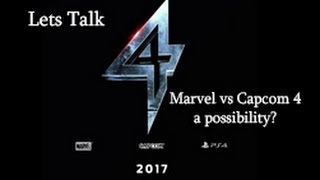 Download Marvel vs Capcom 4 A possibility? Video
