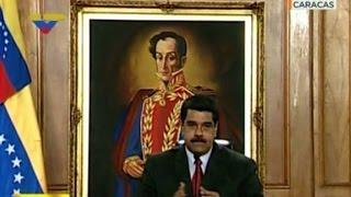 Download Maduro denuncia que lanzan dos granadas contra corte Video
