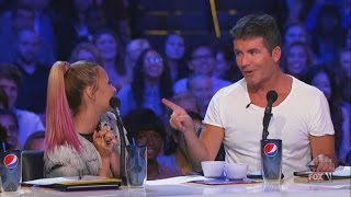 Download Demi Lovato and Simon Cowell - Funniest moments on The X factor - Season 2 (1/6) LEGENDADO Video