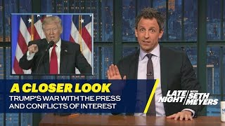 Download Trump's War with the Press and Conflicts of Interest: A Closer Look Video
