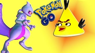 Download POKEMON GO with ANGRY BIRDS - part 1 ♫ 3D animated game mashup ☺ FunVideoTV - Style ;-)) Video
