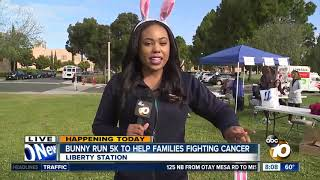 Download Bunny run 5K to help families fighting cancer Video
