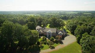 Download Traditional Brick Georgian Estate in Howardsville, Virginia Video