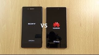 Download Sony Xperia Z3+ VS Huawei P8 - Speed & Camera Test! Video