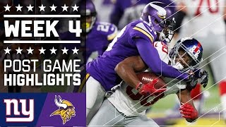 Download Giants vs. Vikings | NFL Week 4 Game Highlights Video