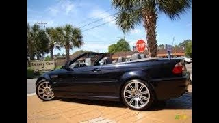 Download 2003 BMW M3 convertible review - In 3 minutes you'll be an expert on the M3 Convertible Video