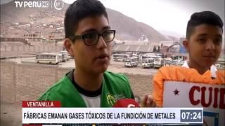 Download Ventanilla: gases tóxicos de fundación de metales afectan a niños Video