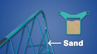 Download Why Roller Coaster Track is Filled with Sand Video