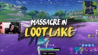 Download Loot Lake Massacre (insane 20 kill clutch) Video