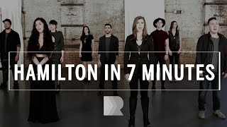 Download Hamilton [in 7 minutes] - RANGE a cappella Video