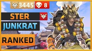 Download Ster as Junkrat on Hanamura at 3445 Skill Rating   Overwatch Video