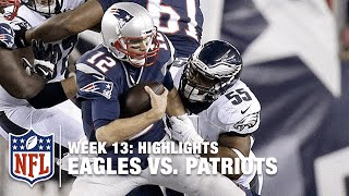 Download Eagles vs. Patriots | Week 13 Highlights | NFL Video