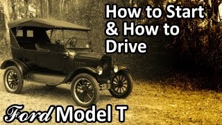 Download Ford Model T - How to Start & How to Drive Video