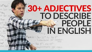 Download Vocabulary - Learn 30 adjectives in English to describe your personality Video