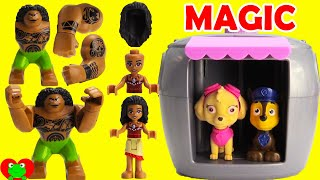 Download Paw Patrol Skye's Magical Pup House Helps Find Moana and Disney Friends Video
