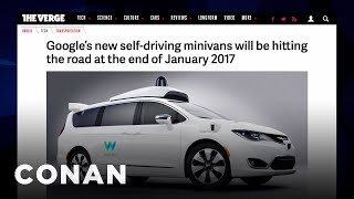 Download EXCLUSIVE Footage Of Google's Self-Driving Car - CONAN on TBS Video