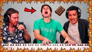 Download I ate the world's hottest chocolate then played piano... Video