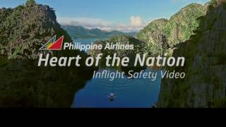 Download Philippine Airlines' Heart of the Nation Inflight Safety Video Video